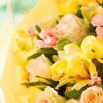 即日出荷 お誕生日の花束&アレンジメントフラワー