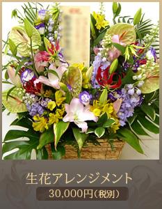 出演祝い花(舞台公演 コンサート)30,000円