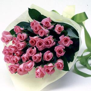 30本のバラの花束